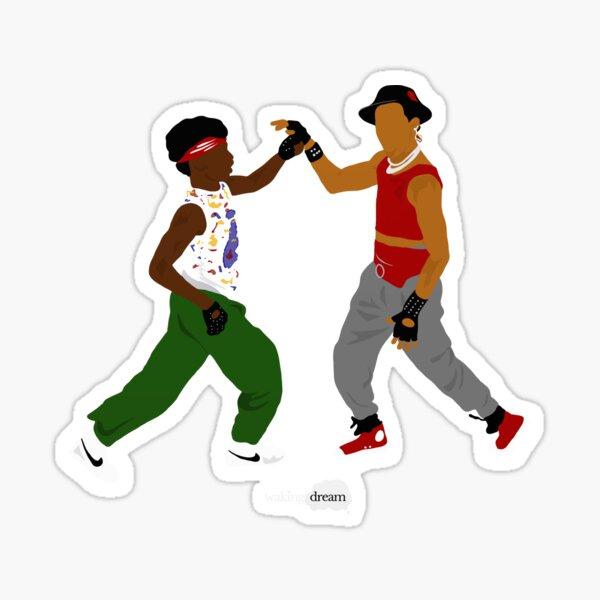 Breakin Sticker