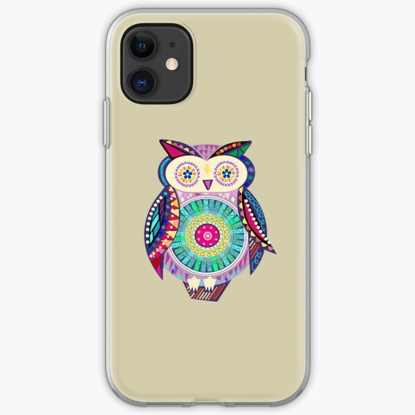 Carnival Owl iPhone Soft Case