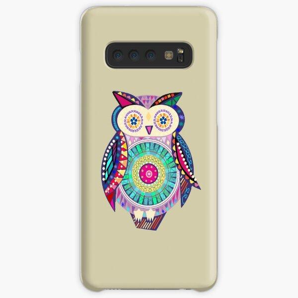 Carnival Owl Samsung Galaxy Snap Case