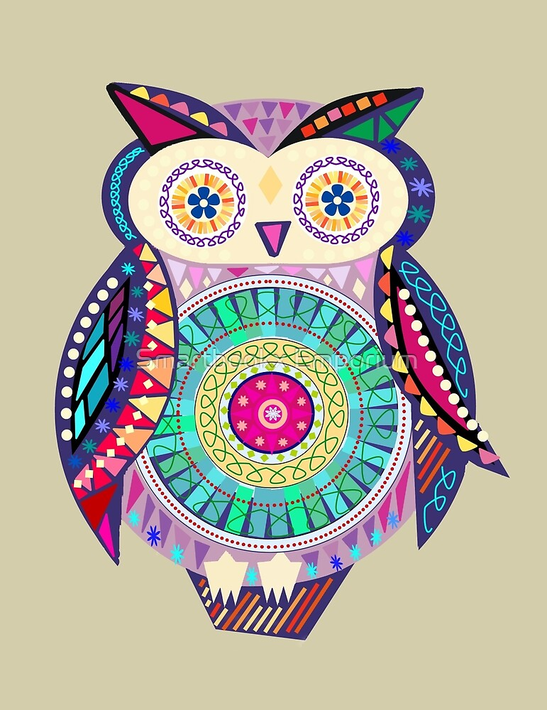 Carnival Owl by Smartbookx Emporium