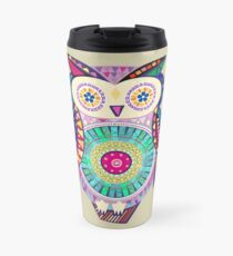 Carnival Owl Travel Mug
