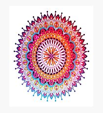 Decorative Arabic Mandala Photographic Print