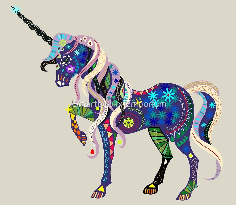 Carnival Unicorn by Smartbookx Emporium
