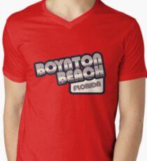 Boynton Beach, Florida | Retro Halftone T-Shirt