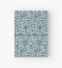 Indigo Blue and White William Morris Pattern Hardcover Journal