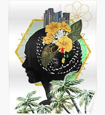 Utopia II Collage Poster