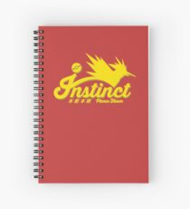 Team Instinct Spiral Notebook