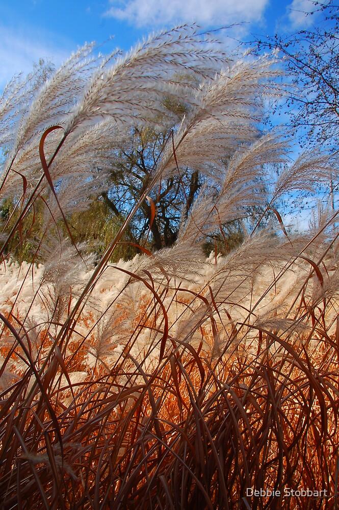 Feathery Plumes by Debbie Stobbart