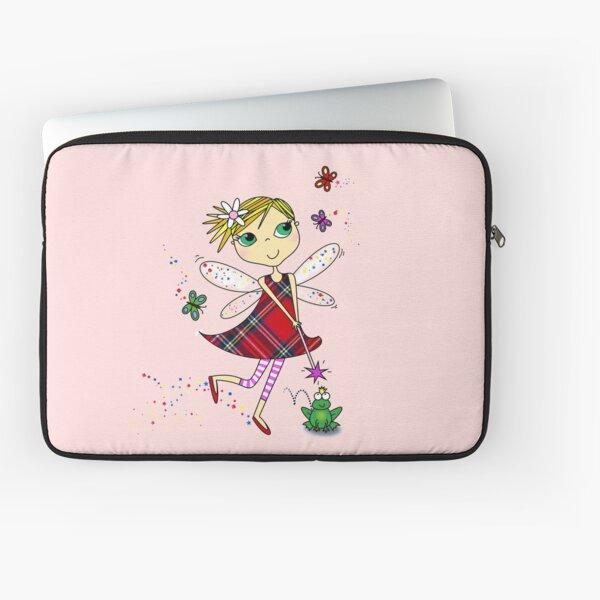 Cute Magic Fairy Cartoon Laptop Sleeve