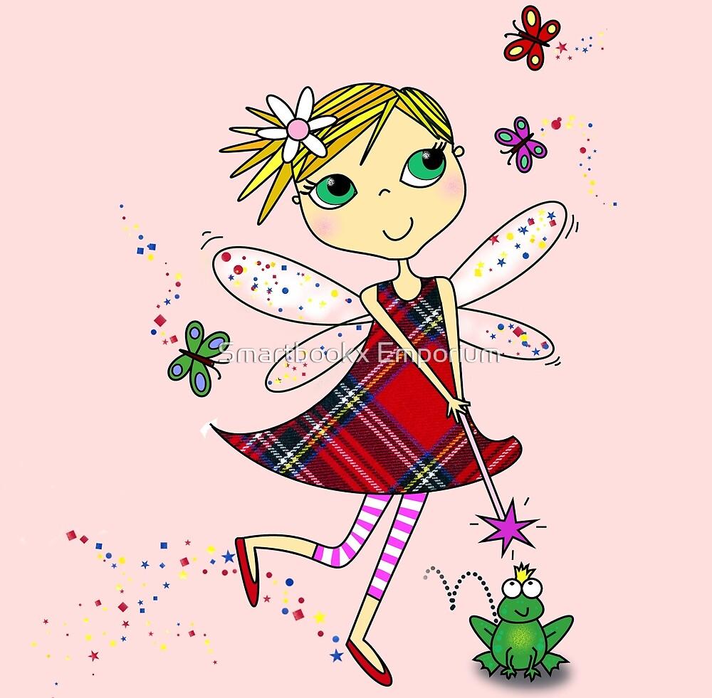 Cute Magic Fairy Cartoon by Smartbookx Emporium