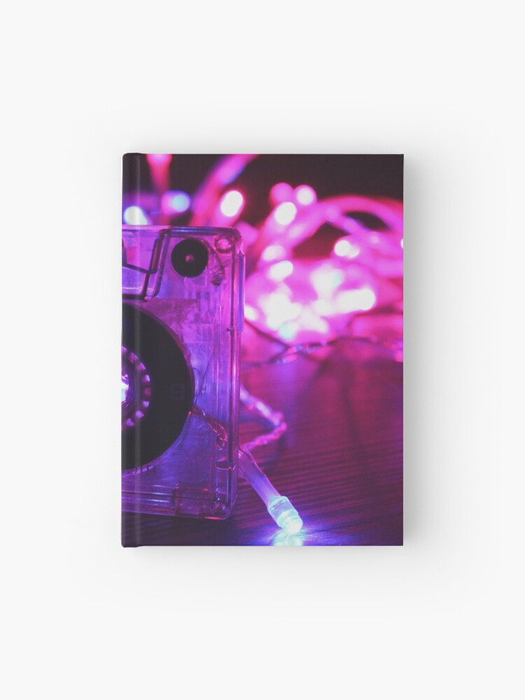 K7 - Retrowave vaporwave cassette | Hardcover Journal