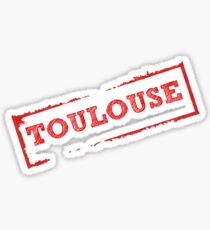 TOULOUSE stamp Sticker
