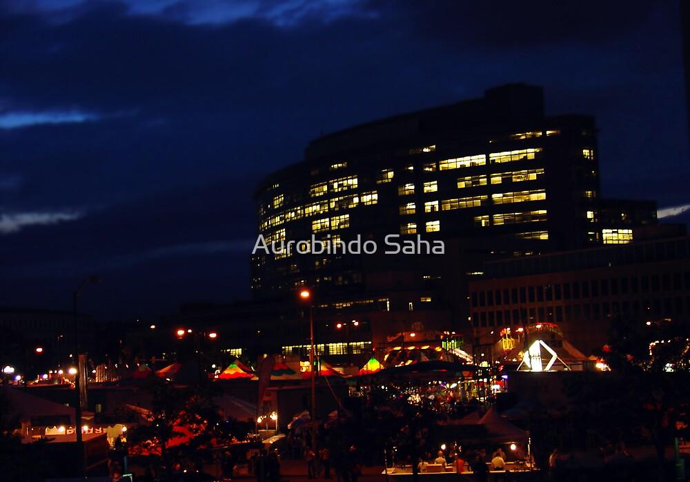 Denver Downtown by Aurobindo Saha