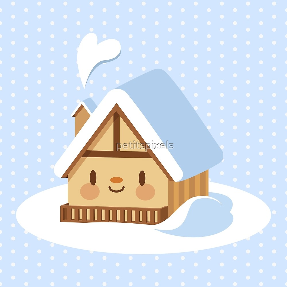 Cute alpine chalet by petitspixels