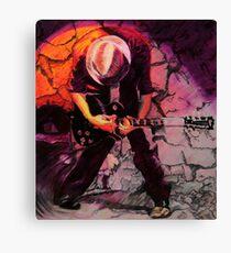 Guitarist's Riff - SxSW Austin, TX  Canvas Print