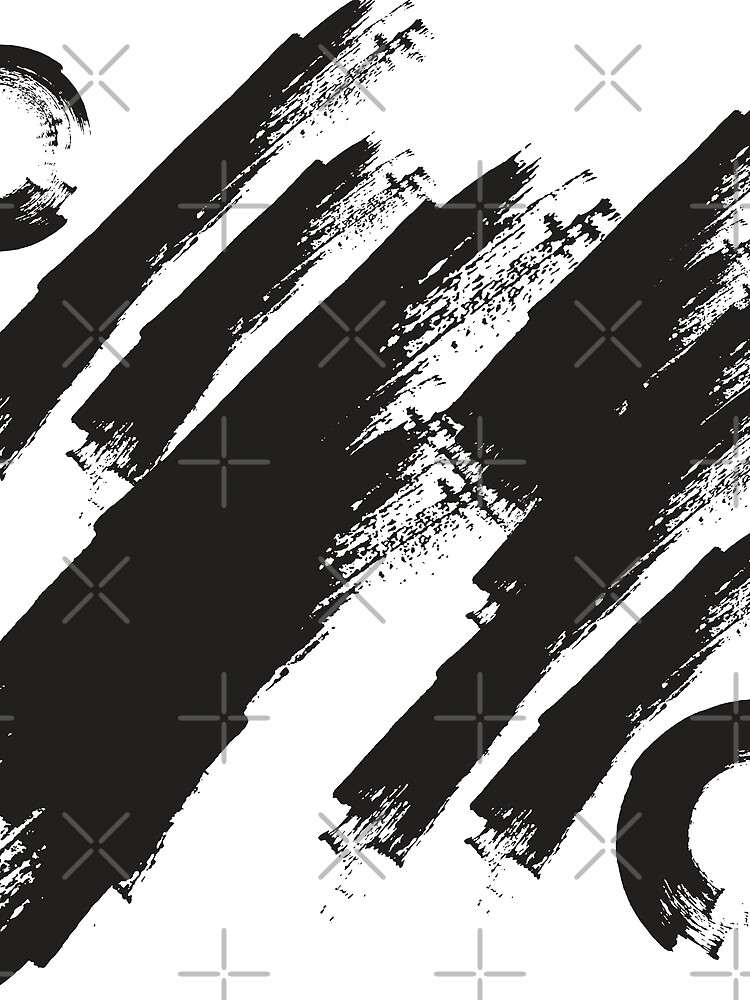 abstract brushstroke  by kimtangdesign