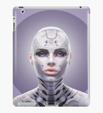 robot woman  iPad Case/Skin