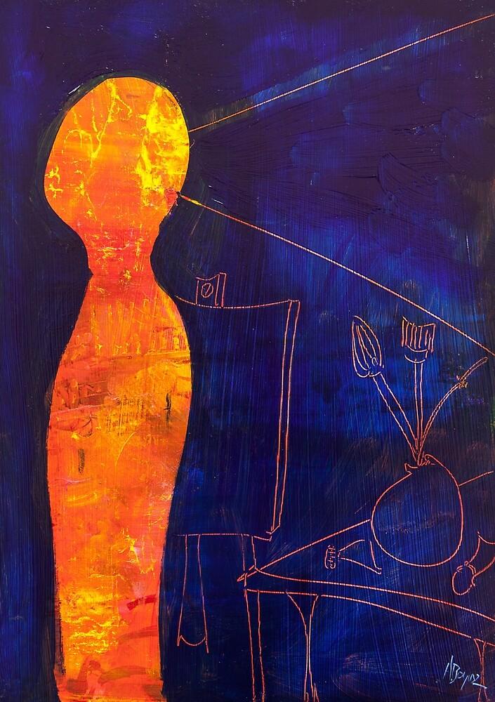 Blue Fire by Adam Bogusz