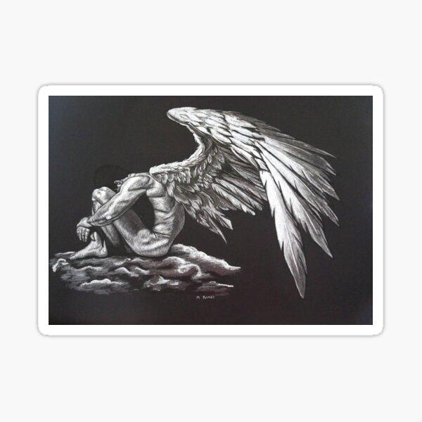 Mourning Sticker