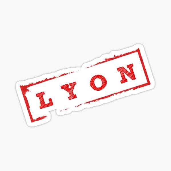 Tampon LYON Sticker