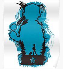 Monster Hunter Blue Poster