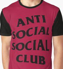Anti Social Social Club Graphic T-Shirt