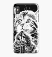 Cat Warrior iPhone Case/Skin
