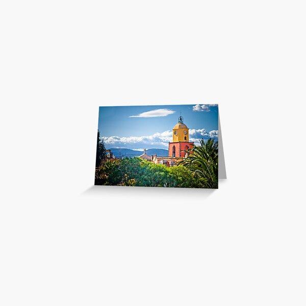 Le clocher de saint tropez Greeting Card