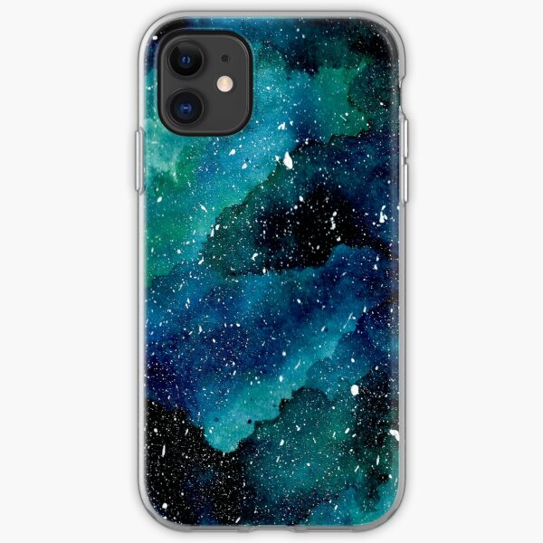 Emerald Galaxy iPhone Soft Case