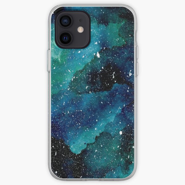 Emerald Galaxy iPhone Soft Case