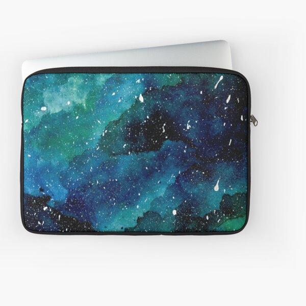 Emerald Galaxy Laptop Sleeve