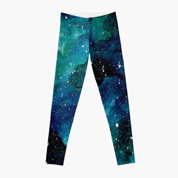 Galaxie émeraude Legging