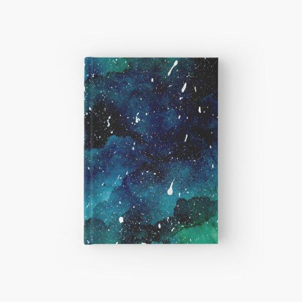 Smaragd-Galaxie Notizbuch