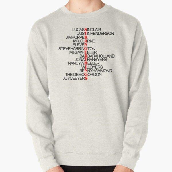 Liste des personnages - Stranger Things Sweatshirt épais