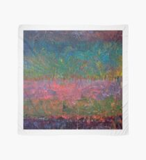 Abstract Landscape Series - Wildflowers Scarf