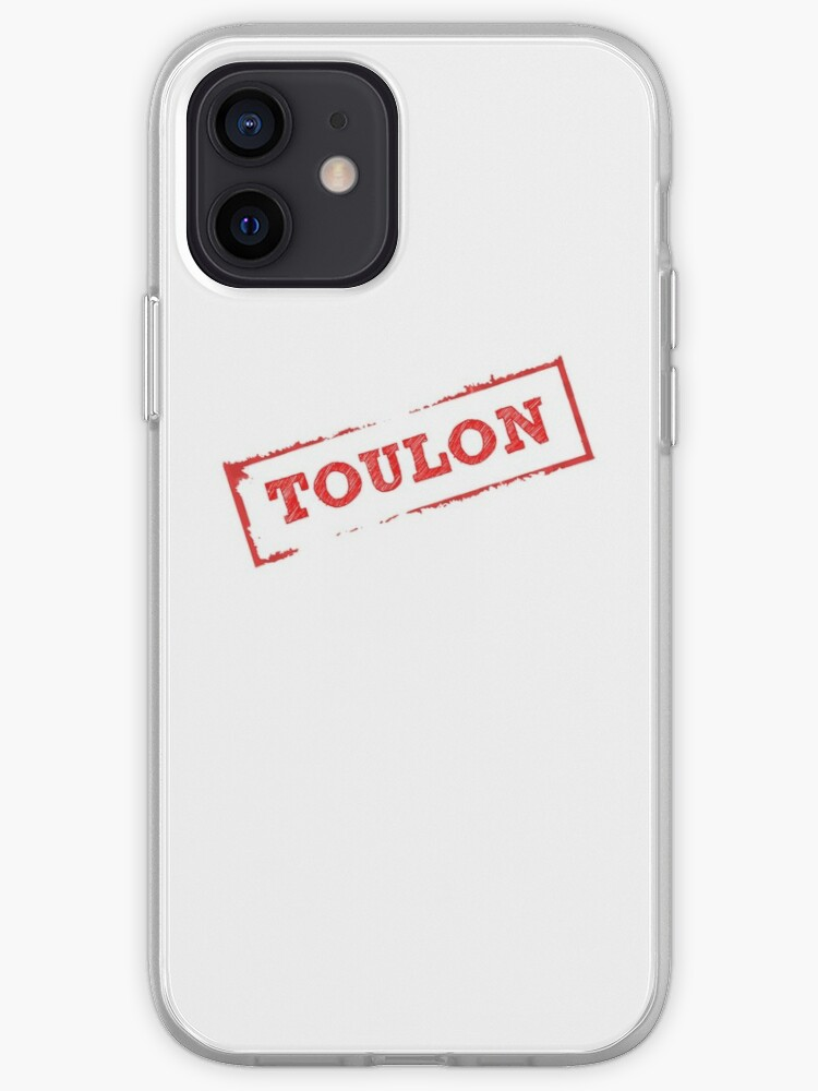 Tampon TOULON | Coque iPhone