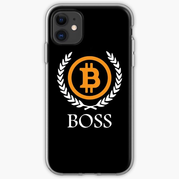 Bitcoin Boss iPhone Soft Case
