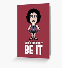 Frank N. Furter Greeting Card
