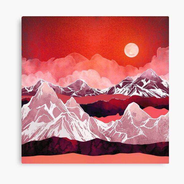 Scarlet Glow Canvas Print