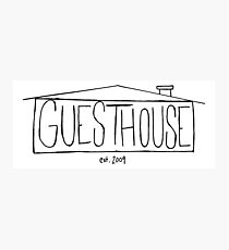 GuestHouse House Logo Photographic Print