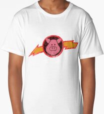Vintage Pigs in Space Long T-Shirt