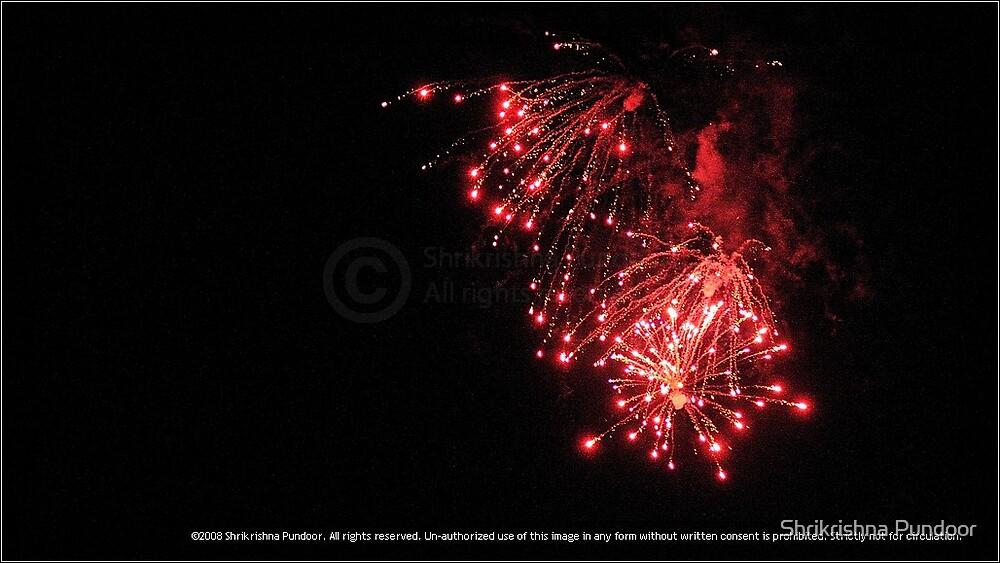 Diwali Firework. by Shrikrishna Pundoor