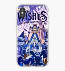 Wishes! Nighttime Spectacular Poster iPhone Case