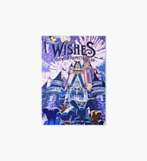 Wishes! Nighttime Spectacular Poster Art Board