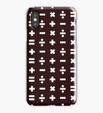 Math Pattern iPhone Case/Skin