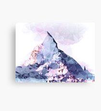 The Crystal Peak Canvas Print