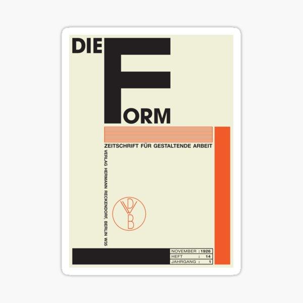 Bauhaus#1 Sticker