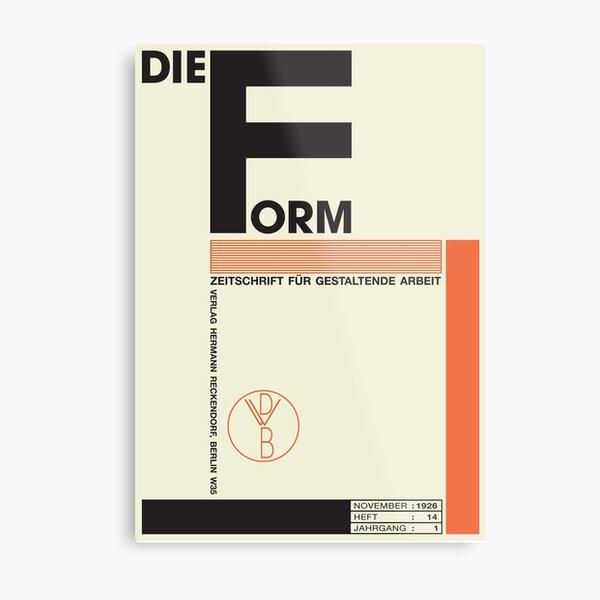 Bauhaus#1 Metal Print