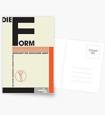 Bauhaus#1 Postcards