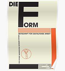 Bauhaus #1 Poster